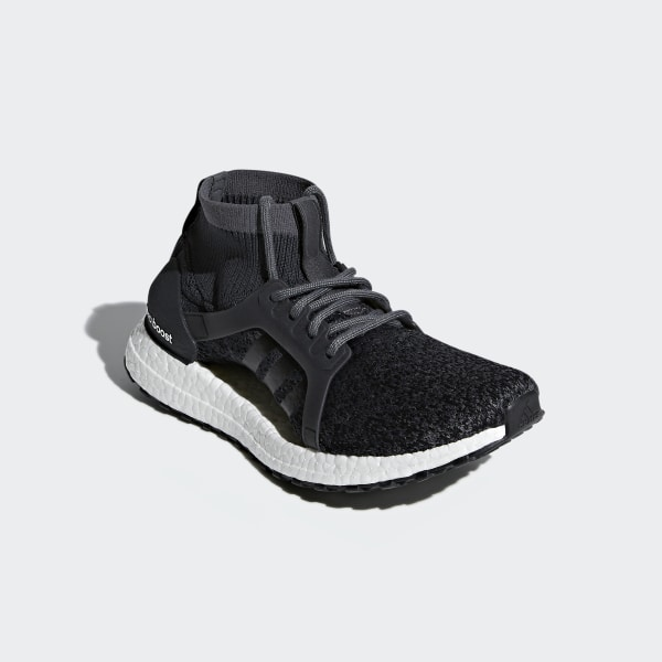 83c2cefbb0891 Ultraboost X All Terrain Shoes Carbon   Carbon   Core Black BY8925