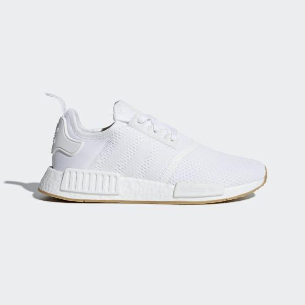 bc4cd2854484b1 NMD R1 Shoes Ftwr White   Ftwr White   Gum 3 D96635