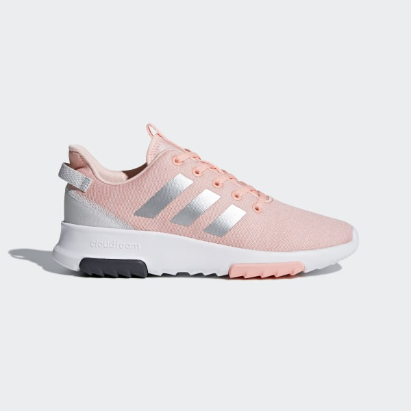 the latest 42763 55a1d Cloudfoam Racer TR Shoes Haze Coral  Silver Metallic  Cloud White DB1868
