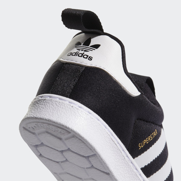 c72f06513669 Superstar 360 Shoes Core Black Footwear White S82711