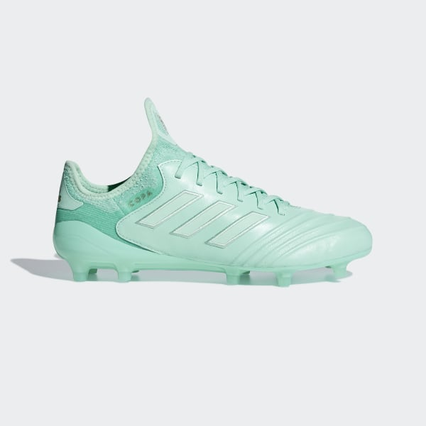 free shipping bba46 ca462 Bota de fútbol Copa 18.1 césped natural seco Clear Mint  Clear Mint  Gold  Met