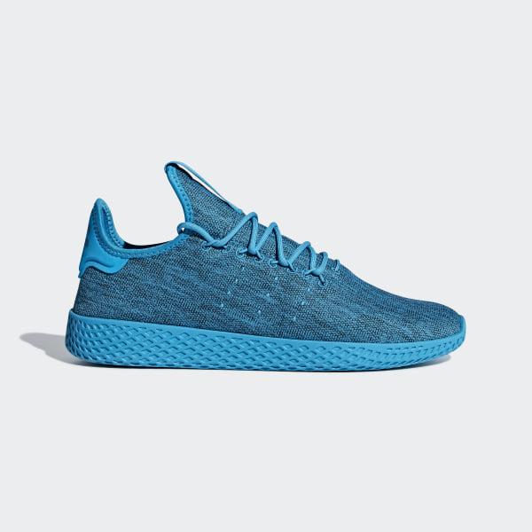 e9673d6395f63 Pharrell Williams Tennis Hu Shoes Bold Aqua   Bold Blue   Chalk White DB2861