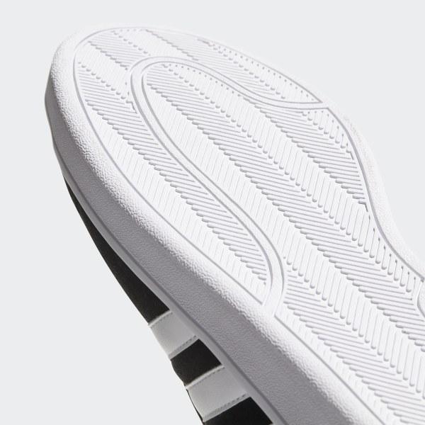 first rate b1a0f 2ff6a Scarpe Cloudfoam Advantage Core Black   Footwear White   Clear Granite  B74226