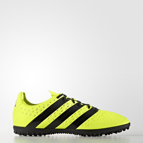 Guayos para césped artificial ACE 16.3 SOLAR YELLOW CORE BLACK SILVER MET.  S31960 fe3a75a06eefd