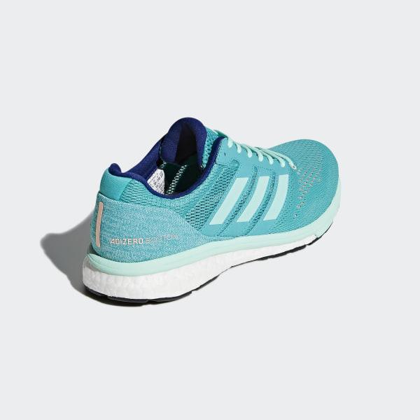 low priced 10f6a ce104 Adizero Boston 7 Shoes Hi-Res Aqua  Clear Mint  Mystery Ink BB6498