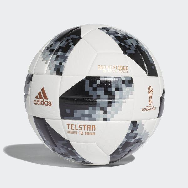 7657a11847fc5 Balón FIFA World Cup Top en Caja de Regalo 2018 WHITE BLACK SILVER MET
