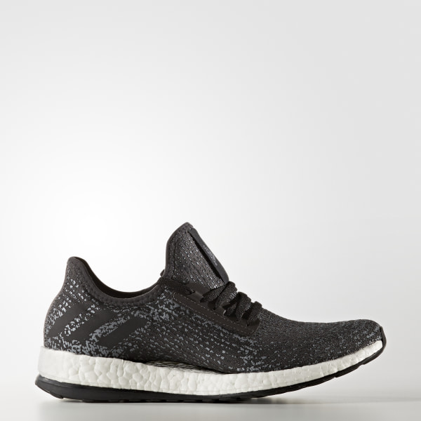 new arrivals aabf6 bb131 Pure Boost X Shoes Utility Black Core Black Iron Metallic BB3430
