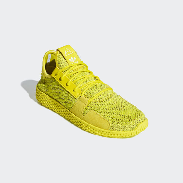 4db639b4a Pharrell Williams Tennis Hu V2 Shoes Shock Yellow   Shock Yellow   Cloud  White DB3329