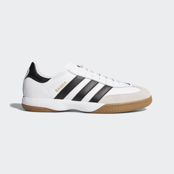 100% authentic 9e005 17e8f Samba Millennium Shoes Cloud White  Black  Gold 661694