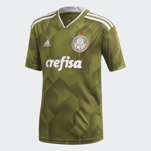 Camisa Palmeiras 3 Kids CRAFT GREEN OLIVE CARGO CF9725 258f332ef440d