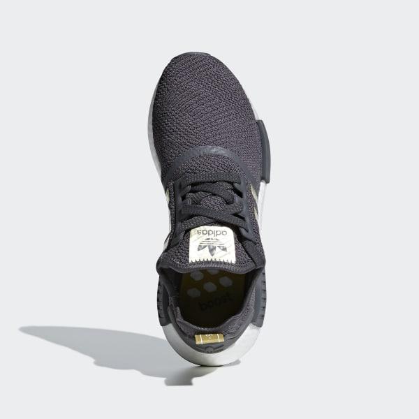 NMD R1 Shoes Grey   Gold Metallic   Pyrite B37651 bd9b327ef