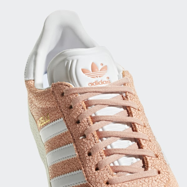 e9587bd61bda Gazelle Shoes Clear Orange   Ftwr White   Off White AQ0904