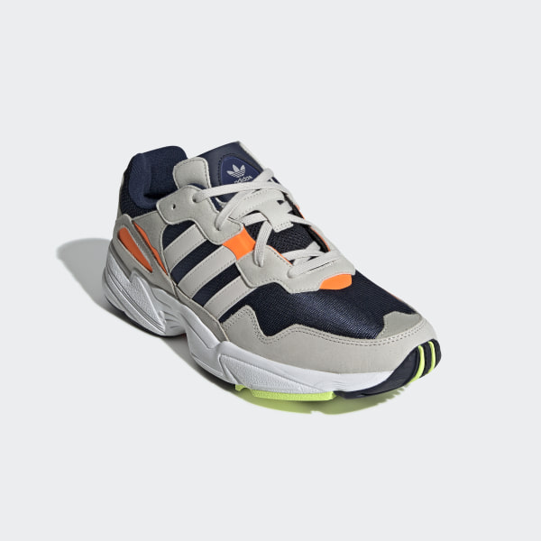 dd38a934b20fd Yung-96 Shoes Collegiate Navy   Raw White   Solar Orange F35017