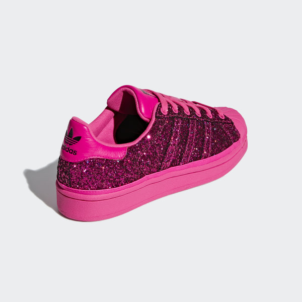 60bbc53200f Superstar Shoes Shock Pink   Shock Pink   Collegiate Purple BD8054