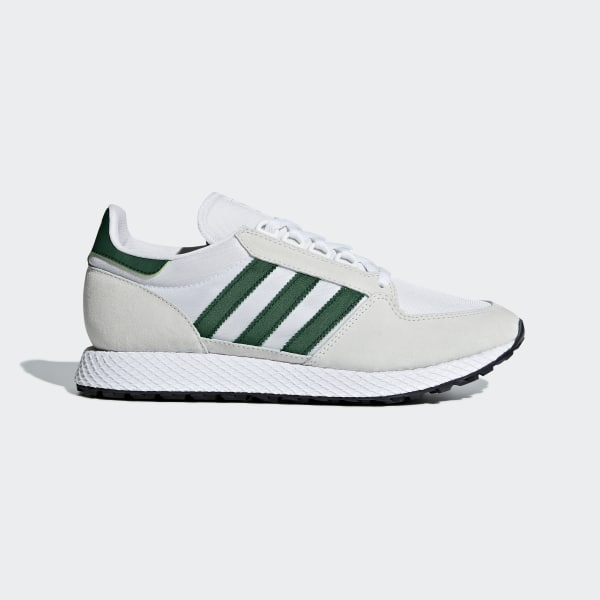 super popular 791d3 80861 Forest Grove Shoes Crystal White  Collegiate Green  Core Black B41546