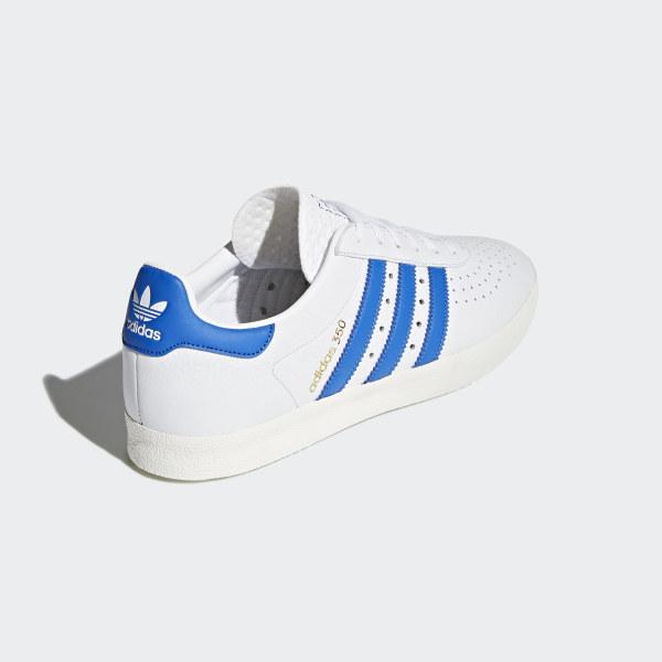 7e1388eb3a357 adidas 350 Shoes Ftwr White   Blue   Off White CQ2772