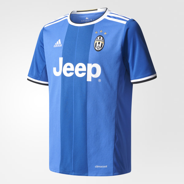 sports shoes da6da 67195 Camiseta Segundo Uniforme Juventus VIVID BLUE VICTORY BLUES WHITE AI6228