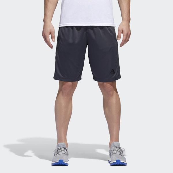 12da583aa4 adidas D2M 3-Stripes Shorts - Grey