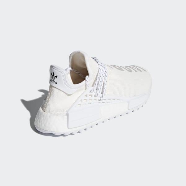 low priced 429fc b757d Pharrell Williams Hu Holi NMD BC Shoes Cream White  Cloud White  Cloud  White AC7031