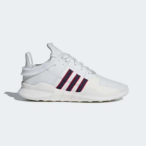 hot sale online b48d8 7b9b7 Chaussure EQT Support ADV Crystal White   Collegiate Navy   Scarlet BB6778