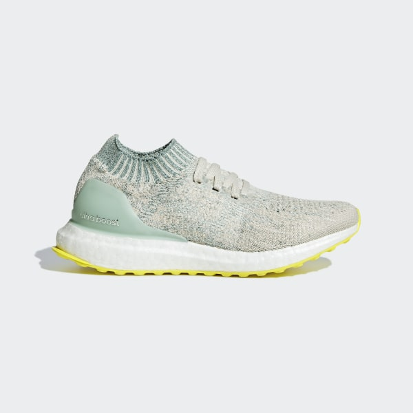 0a441805d Ultraboost Uncaged Shoes Chalk White   Ash Green   Cloud White B43518