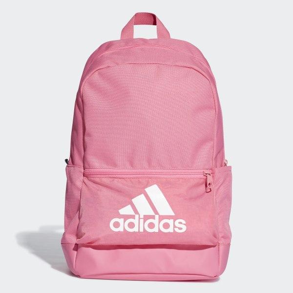 46b0c4835c Classic Badge of Sport Backpack Semi Solar Pink   Semi Solar Pink   White  DT2630