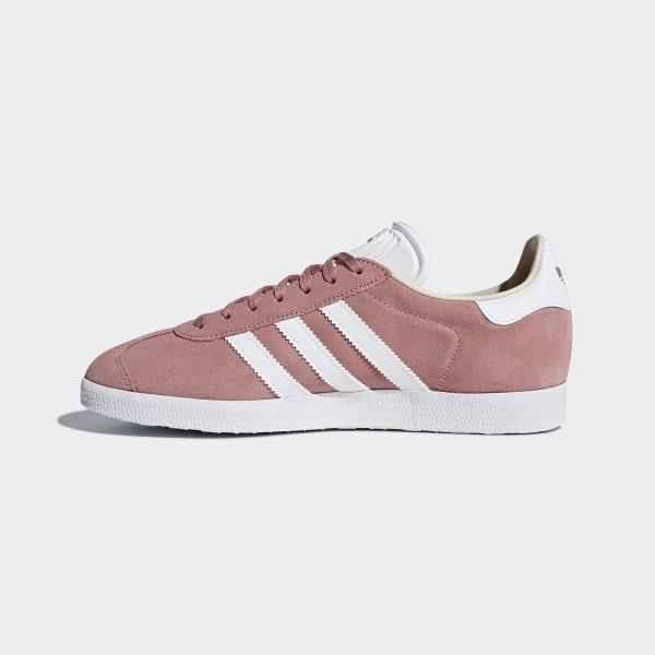 2dbf65add76 Gazelle Shoes Ash Pink   Cloud White   Linen CQ2186