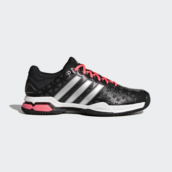 f08eb25468cf Barricade Club Shoes Core Black   Silver Metallic   Flash Red AQ2288