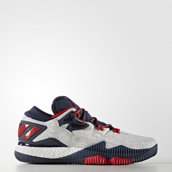 Tênis Crazylight Boost Low WHITE SCARLET COLLEGIATE NAVY B49755 f5128d00f3b7f