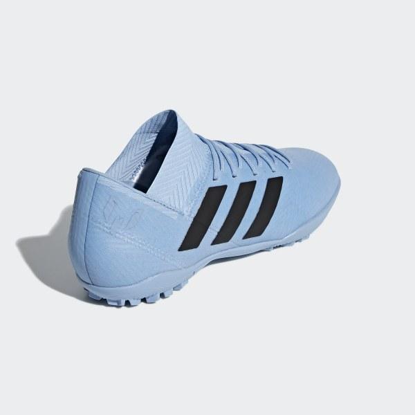 ... Nemeziz Messi Tango 18.3 Turf Shoes Ash Blue Core Black Raw Grey DB2221  autumn shoes 98e64  adidas ... d3cefbdf7