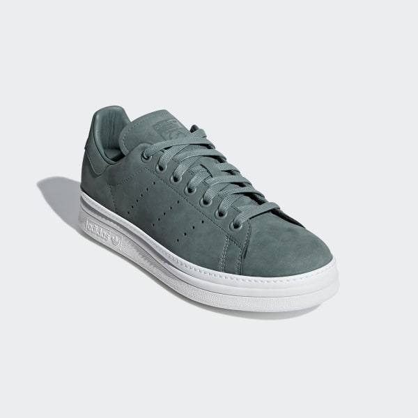 b19b81b8d14b Stan Smith New Bold Shoes Raw Green   Raw Green   Cloud White B37664