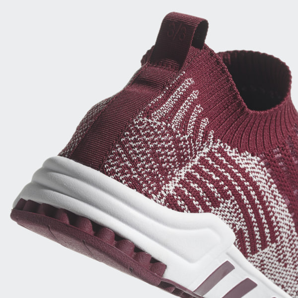 sale retailer 127a6 822a6 EQT Support Sock Primeknit Shoes collegiate burgundy  off white  crystal  white B37527