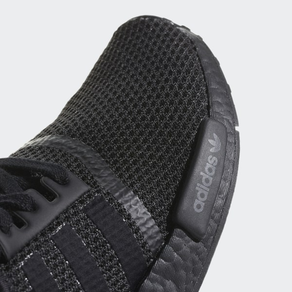 3075af0aaf39b NMD R1 Shoes Core Black   Core Black   Clear Mint AQ1102