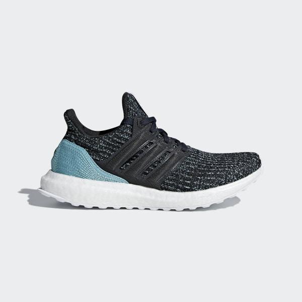 best website f51b6 a474a Ultraboost Parley Shoes Carbon   Carbon   Blue Spirit CP8778