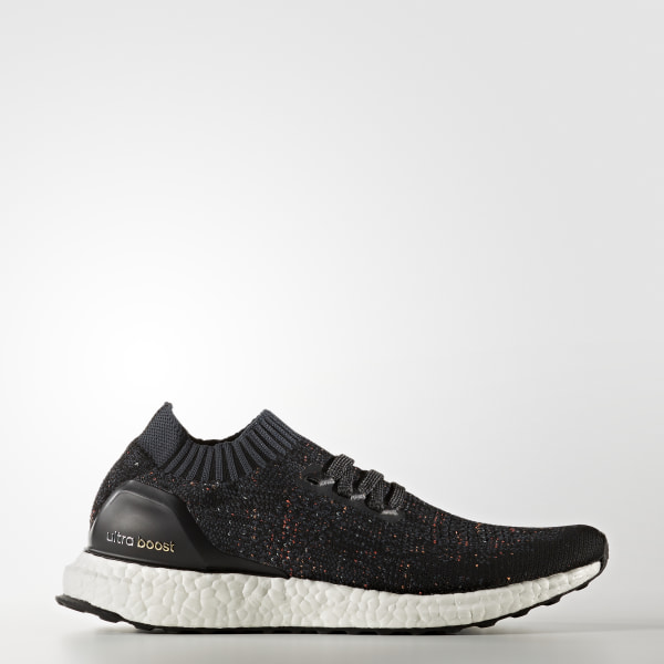 the latest edf82 ad32c Tenis Ultra Boost Uncaged CORE BLACK DARK GREY EASY GREEN BA9796
