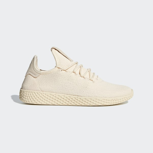 24f346d7d Pharrell Williams Tennis Hu Shoes Beige   Cloud White   Core Black D96552