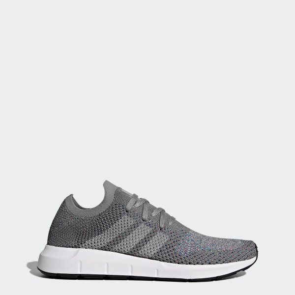85bc956628e Swift Run Primeknit Shoes Grey   Grey   Cloud White CG4128