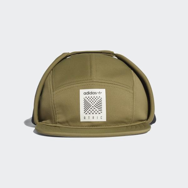 ca56fe377d0 adidas Atric Five-Panel Flap Cap - Green