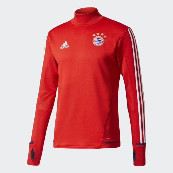 e26cdcea437 FC Bayern Munich Training Top Fcb True Red   White BQ2481