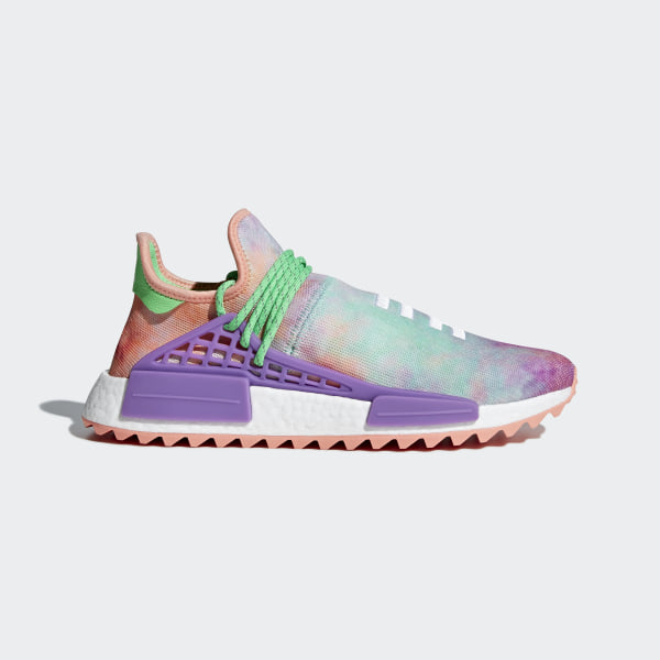 84142464f71e Pharrell Williams Hu Holi NMD MC Shoes Chalk Coral   Black   Black AC7034