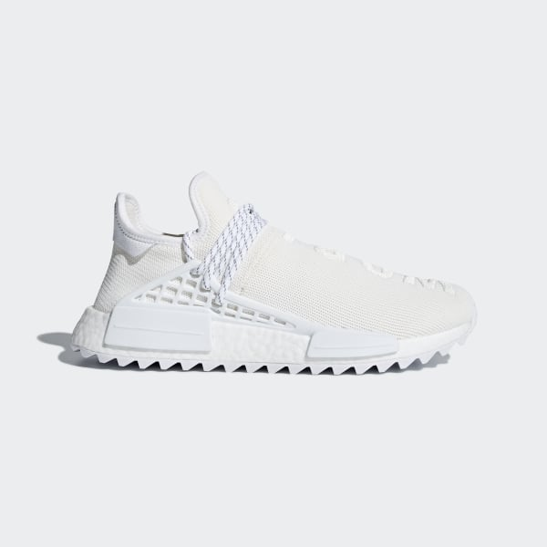 low priced 429fc b757d Pharrell Williams Hu Holi NMD BC Shoes Cream White  Cloud White  Cloud  White AC7031