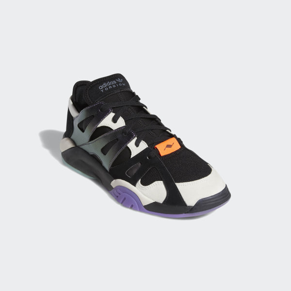 buy popular 124e5 16f9d Chaussure Dimension Low Top Core Black  Raw White  Active Purple BC0623
