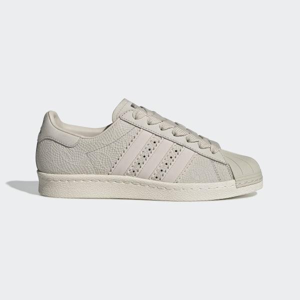 705a07d654 Sapatos Superstar 80s Clear Brown   Clear Brown   Off White CG5938