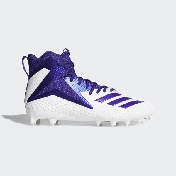 premium selection fa179 68780 Freak X Carbon Mid Cleats Cloud White   Collegiate Purple   Collegiate  Purple DB0569