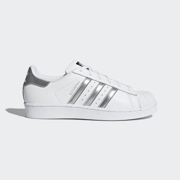 Tenisky Superstar Footwear White Silver Metallic Core Black AQ3091 bb747e509bd