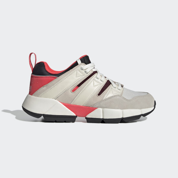 official photos 5aae9 a9191 EQT Cushion 2.0 Shoes Shock Red   Off White   Clear Brown DB2717