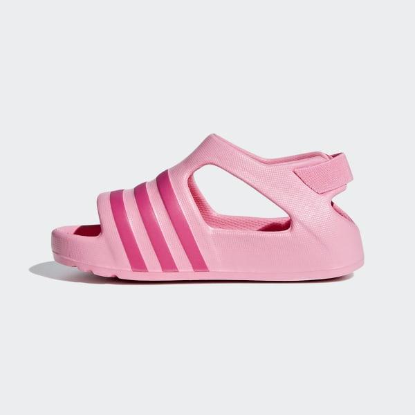 0c83eb44d Adilette Play Slides light pink   shock pink   active purple CG6598