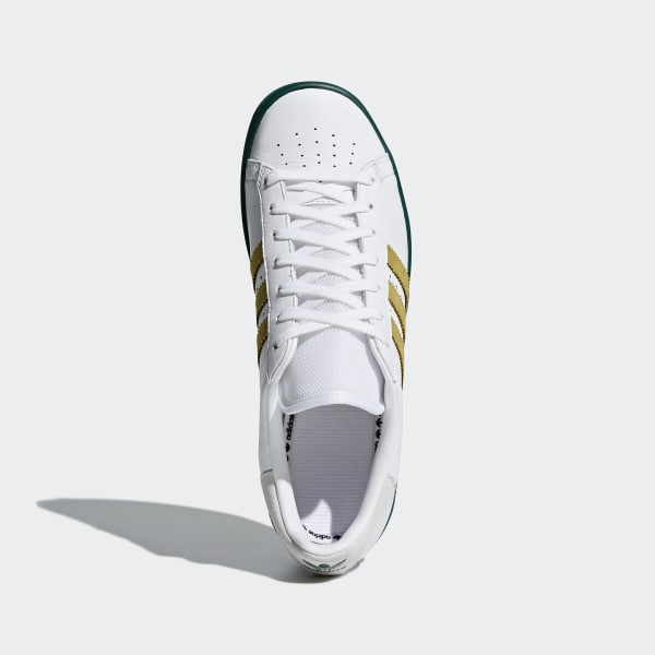 f9193b1e472 Forest Hills Shoes Ftwr White   Gold Met.   Collegiate Green AQ0921