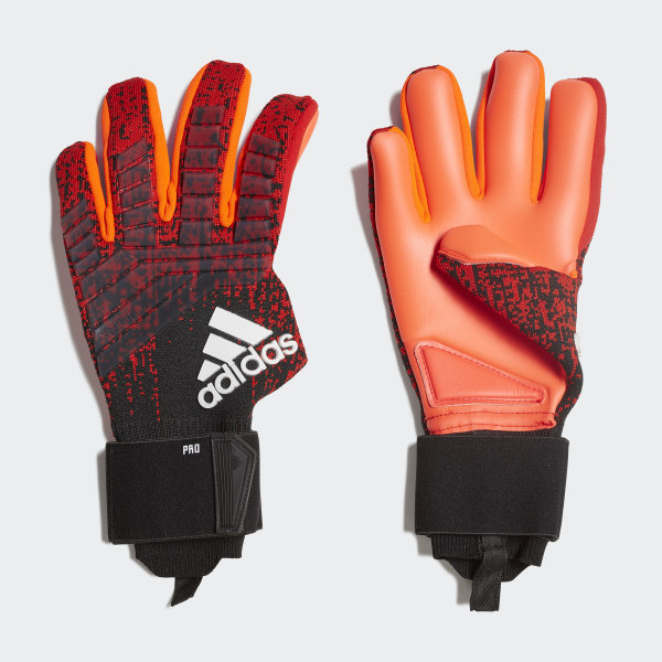 new products 4379e cd34c Predator Pro Gloves Active Red   Black   Solar Red DN8580