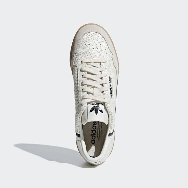 outlet store 5234a 9b728 Continental 80 Shoes Chalk White  Carbon  Grey Five D96659